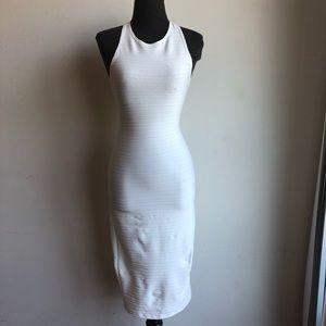 Zara sz S ribbed bodycon dress